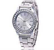 Men's Women's Wrist watch Casual Watch Chinese Quartz Metal Band Luxury Minimalist Casual Silver Gold Rose Gold