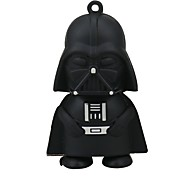 8gb black warrior usb flash drive cartoon usb 2.0 usb flash drive memória drive stick pen gift