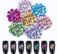 cheap -70 Glitter Accessories Crystal Grooming Art Deco/Retro Rhinestones Nail Jewelry DIY Supplies Wedding 3-D Glitters Crystal Fashionable