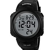 SKMEI -1068 Relógio Inteligente Impermeável Suspensão Longa Relogio Despertador Temporizador Multifunções Vestível Informação Função de