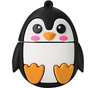 cartoon penguin de alta velocidade 256gb usb 2.0 flash drive u disco de memória
