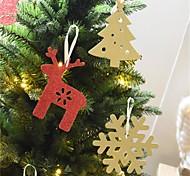 Недорогие -6шт Рождество Рождественские украшенияForПраздничные украшения 15*10