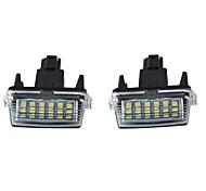Недорогие -Автомобиль Лампы W lm Светодиодная лампа Внешние осветительные приборы ForToyota