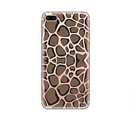 Case For iPhone X iPhone 8 Transparent Pattern Back Cover Leopard Print Soft TPU for iPhone X iPhone 8 Plus iPhone 8 iPhone 7 Plus iPhone