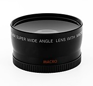 cheap -10X Macro 0.45X Wide Angle Camera Lens Lens for Camera Canon