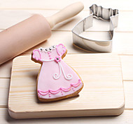 Недорогие -Файлы cookie Юбки Принцесса юбка Мультфильм образный Овал Для Sandwich конфеты Для Cookie Печенье Хлеб Нержавеющая сталь Для детской День