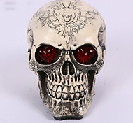 1PC Halloween Resin Skull House Escape Horror Props Decorations Design Is Random