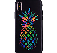 cheap -Case For Apple iPhone X iPhone 8 Pattern Back Cover Fruit Soft Silicone for iPhone X iPhone 8 Plus iPhone 8 iPhone 7 Plus iPhone 7 iPhone