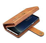 Case For Apple iPhone X Card Holder Wallet with Stand Flip Full Body Solid Color Hard Genuine Leather for iPhone X iPhone 8 Plus iPhone 8