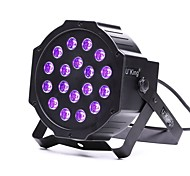 cheap -U'King ZQ-B194B 18*1W LEDs Purple Color Auto DMX Sound Activated Par Stage Lighting for Disco Party Club KTV Wedding