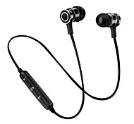 cheap -s6 In Ear Wireless Headphones Dynamic Plastic Sport & Fitness Earphone with Microphone with Volume Control Headset