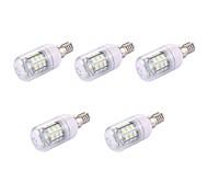 5 pezzi 2W LED a pannocchia T 30 leds SMD 5730 Bianco caldo 150lm 3000-3500K 110-120V