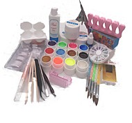 cheap -8Pcs Nail Kit Nail Decoration Type Style Nail Art DIY