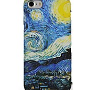 abordables -Funda Para Apple iPhone X iPhone 8 Ultrafina Diseños Cubierta Trasera Cielo Suave TPU para iPhone X iPhone 8 Plus iPhone 8 iPhone 7 Plus