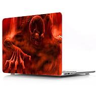 Недорогие -MacBook Кейс для Черепа Поликарбонат материал