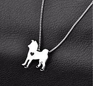 Недорогие -Собака Ожерелье Одежда для собак На каждый день Однотонный Золотой Серебряный Костюм Для домашних животных