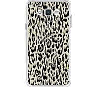 For Case Cover Rhinestone Pattern Back Cover Case Leopard Print Soft TPU for Samsung Galaxy J7 (2016) J7 (2017) J7 V J7 Perx J7 J5 (2016)