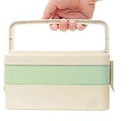 Недорогие -ящик из пшеничной муки ящик японский бенто коробка рис шелуха столовая посуда студент портативный обеденный ящик суши сушильная камера