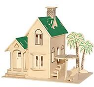 Недорогие -3D пазлы Пазлы Наборы для моделирования Модель дерева Лошадь 3D Для детской Горячая распродажа Домики Мода новый Модерн Все возрастные