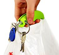 Недорогие -2 силиконовый мешок держатель ручка повесить сумочку корзина хозяйственная сумка держатель удобная ручка защитить руку