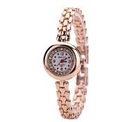 Women's Dress Watch Bracelet Watch Wrist watch Simulated Diamond Watch Chinese Quartz Imitation Diamond Alloy Metal Band Luxury Casual