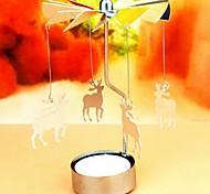 Holiday Revolving door Windmill Rotation Candlestick Candleholder Tea Light Holder