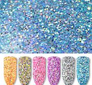 economico -1 Polvere di glitter Con lustrini Classico Laser Holografico Alta qualità Quotidiano