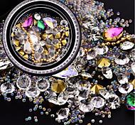 Недорогие -1 Орнаменты Инструменты сделай-сам Other Стиль Мода Милый Хрусталь Несколько цветов Специально разработанный Простой Сверкающий Стиль