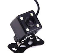 ziqiao® универсальная водонепроницаемая мини-камера заднего вида с разрешением 120 градусов с 4 светодиодами ночного видения