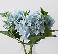 Недорогие -Искусственные Цветы 1 Филиал Современный / Европейский стиль Гортензии Букеты на стол