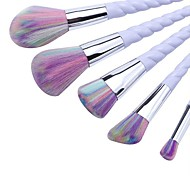 cheap -5 pcs Makeup Brush Set Synthetic Hair Full Coverage Plastic Face