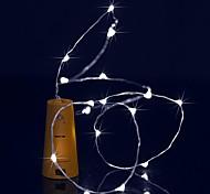 cheap -BRELONG® String Lights 15 LEDs Warm White White Purple Green Blue Waterproof <5V