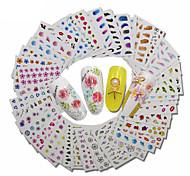 Стикер искусства ногтя Наклейки Набор макияж Косметические Ногтевой дизайн