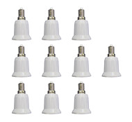 cheap -10pcs E14 to E27 E27 Light Socket Simple