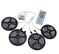 cheap -HKV® 20M(4x5m) RGB 3528SMD 1200LED RGB LED Flexible Strip Lights IP65 Waterproof With 44Key IR Remote Controller Kit DC 12V