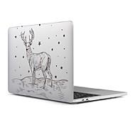 """Недорогие -MacBook Кейс для Матовое Рождество пластик Новый MacBook Pro 15"""" / Новый MacBook Pro 13"""" / MacBook Pro, 15 дюймов"""