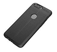 Недорогие -Кейс для Назначение OnePlus Один плюс 3 5 3 Защита от удара Матовое Кейс на заднюю панель Сплошной цвет Мягкий ТПУ для One Plus 5 One