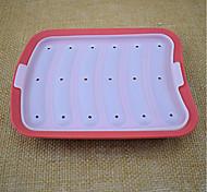 Недорогие -Вкладыши для выпечки Квадратный Для приготовления пищи Посуда Для мяса Многофункциональный силикагель Простой Многофункциональный