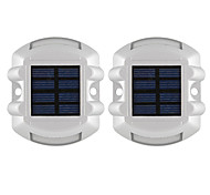 cheap -2pcs 1W LED Floodlight Decorative Outdoor Lighting Natural White <5V