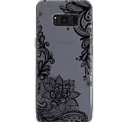 cheap -Case For Samsung Galaxy S8 Plus S8 Transparent Pattern Embossed Back Cover Lace Printing Soft TPU for S8 Plus S8 S7 edge S7 S6 S5