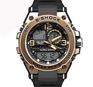 cheap -Men's Casual Watch Sport Watch Fashion Watch Chinese Quartz Calendar / date / day Chronograph Water Resistant / Water Proof Luminous Dual