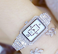 cheap -Women's Fashion Watch Unique Creative Watch Pave Watch Japanese Quartz Water Resistant / Water Proof Colorful Stainless Steel Band