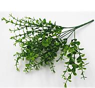 Недорогие -32см 4 шт 49 оставить / ветка эвкалипта зеленая трава домашнее украшение искусственные цветы