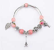 Women's Charm Bracelet Onyx Multi-stone Casual Fashion China Alloy Leaf Geometric Jewelry For Daily Evening Party