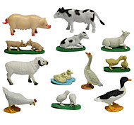 Action & Toy Figures Toys Animals Chicken Duck Pig Sheep Cow Animals Animal Pieces Kids Gift