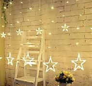 Недорогие -3m 12 звезд огни рождество Хэллоуин декоративные огни праздничные полосы огни со звездами (220v)