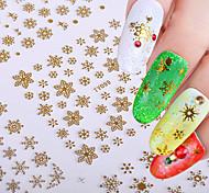 Недорогие -Стикер искусства ногтя Наклейки Инструменты сделай-сам макияж Косметические Ногтевой дизайн