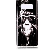 cheap -Case For Samsung Galaxy Note 8 Pattern Back Cover Animal Soft TPU for Note 8 Note 5 Edge Note 5 Note 4 Note 3 Lite Note 3 Note 2 Note