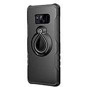 Case For Samsung Galaxy S8 Plus S8 Shockproof Ring Holder Back Cover Solid Color Hard PC for S8 Plus S8 S7 edge S7