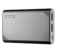 cheap -WAZA 10000mAh USB Power Bank, Smallest and Lightest 10000mAh External Battery, Ultra-Compact, High-speed Charging for iPhone, Samsung Galaxy and More